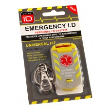 EMERGENCY ID UNIVERSAL FIT TAG WSID-05