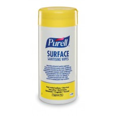 PURELL SURFACE SANITISING WIPES (TUB) CASE/12