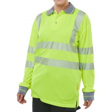 HIVIZ EXECUTIVE LONG SLEEVE POLO