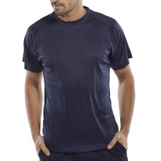 B-COOL T-SHIRT NAVY