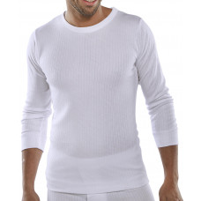 THERMAL VEST L/S WHITE