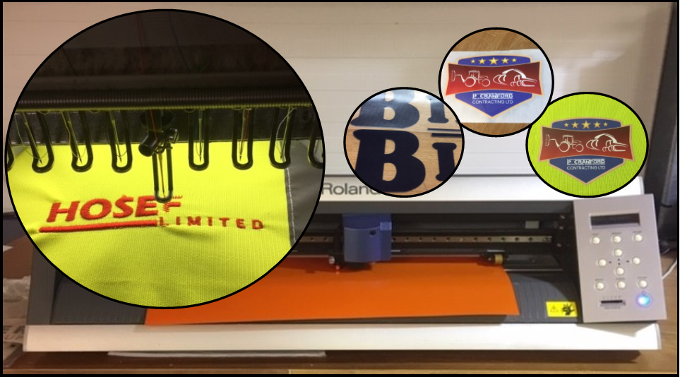 Embriodery and Vinyl Printing Image. Link to More Details